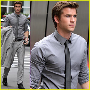 Liam Hemsworth: 'Paranoia' in New York City