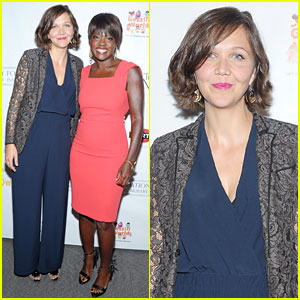 Maggie Gyllenhaal & Viola Davis: 'Won't Back Down' Screening!
