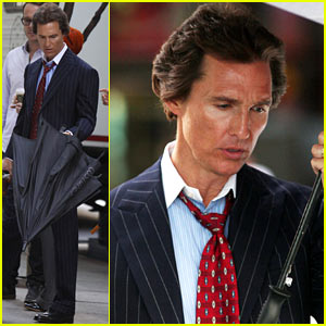 Matthew McConaughey: 'Wolf of Wall Street' Set!