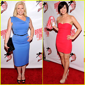 Megan Hilty & Krysta Rodriguez: 'Bring It On' Opening Night!