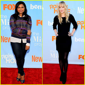 Mindy Kaling & Dakota Johnson: Fox Tuesday Night Event!