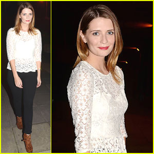 Mischa Barton: 'Saturday Night with Miriam' Appearance