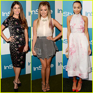 Nikki Reed & Ashley Tisdale: InStyle Summer Soiree!