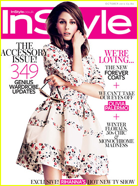 Olivia Palermo Covers 'InStyle UK' October 2012