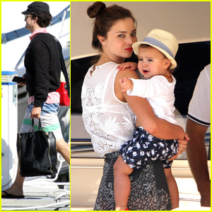 Orlando Bloom &#038; Miranda Kerr: Cruise Vacation!