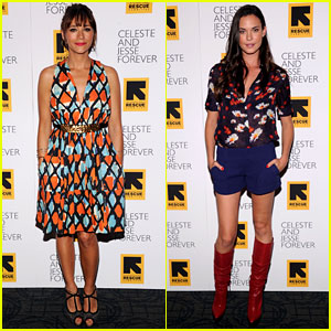 Rashida Jones &#038; Odette Annable: 'Celeste &#038; Jesse' Premiere!