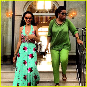 Rihanna: Barbados with Oprah Winfrey!