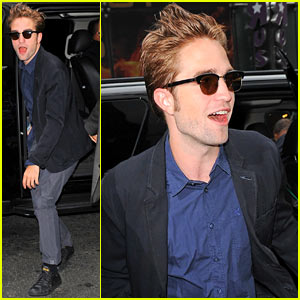 Robert Pattinson: 'Good Morning America' Appearance!