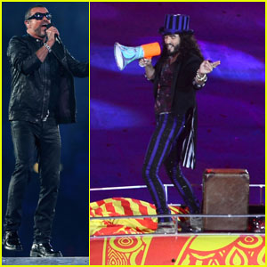 Russell Brand & George Michael: Olympics Closing Ceremony!