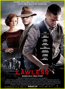 Tom Hardy &#038; Shia LaBeouf: New 'Lawless' Poster!