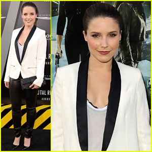 Sophia Bush: 'Total Recall' Premiere!
