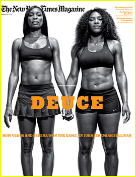 Venus & Serena Williams Cover 'New York Times Magazine'