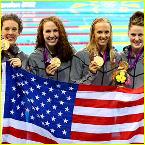 usa swim team gold