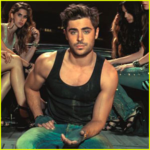 Zac Efron: John John Denim Campaign - Official Pi