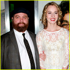 Zach Galifianakis: Married to Quinn Lundberg!