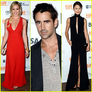 Abbie Cornish & Colin Farrell: 'Seven Psychopaths' at TIFF!