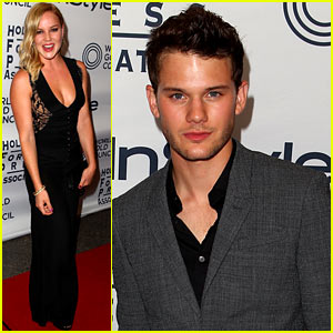 Abbie Cornish & Jeremy Irvine: 'InStyle' Toronto Film Festival Party!