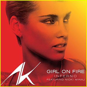 Alicia Keys feat. Nicki Minaj: 'Girl On Fire (Inferno)' Premiere!