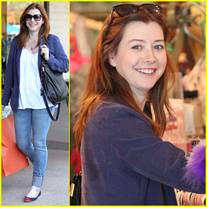 Alyson Hannigan: 'How I Met Your Mother' Ratings In!