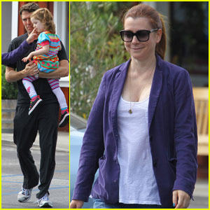 Alyson Hannigan: Ice Cream Outing with the Family!