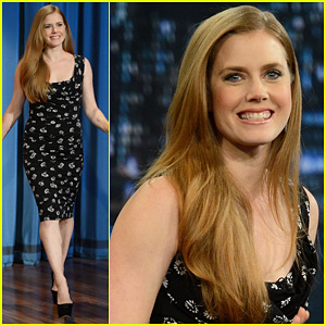 Amy Adams: 'Late Night with Jimmy Fallon' Visit!