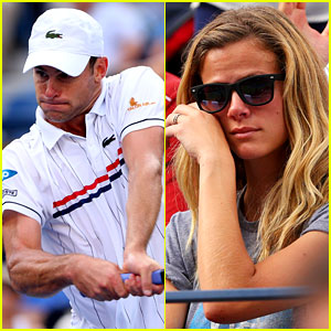 Andy Roddick Plays Final Tennis Match, Brooklyn Decker Cries
