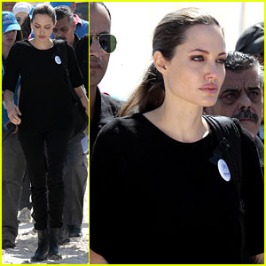 Angelina Jolie: Zaatari Refugee Camp Visit!