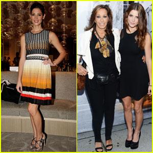 Ashley Greene: DKNY Fashion Show