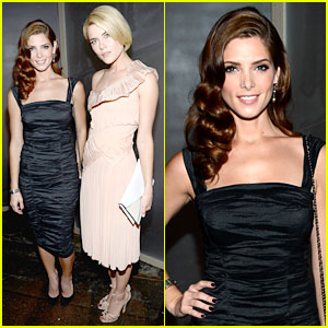 Ashley Greene & Rachael Taylor: Donna Karan Show!
