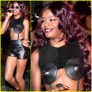 Azealia Banks: 'Spin' Magazine Party Performer!