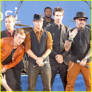 Backstreet Boys Reunite for 'Good Morning America'!