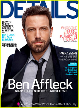 Ben Affleck Talks Blake Lively in 'Details' October 2012
