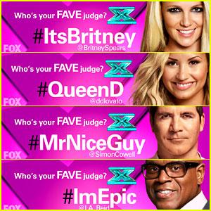 Britney Spears & Demi Lovato: 'X Factor' Twitter Race (Exclusive)