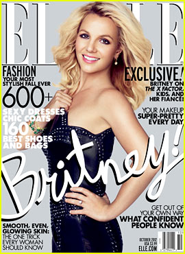 Britney Spears Covers 'Elle' October 2012