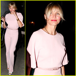 Cameron Diaz Attends Gwyneth Paltrow's Obama Fundraiser!
