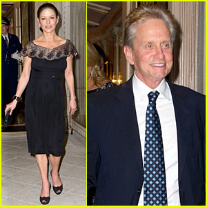 Catherine Zeta-Jones & Michael Douglas: Birthday Celebrations!