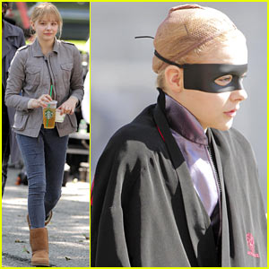 Chloe Moretz: 'Kick-Ass 2' in Toronto!