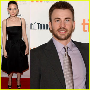Chris Evans &#038; Winona Ryder: 'Iceman' Premiere at Tiff!
