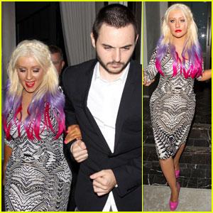 Christina Aguilera & Matthew Rutler: Spago Dinner Date!