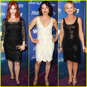 Christina Hendricks & Amy Poehler: Women In Film Pre-Emmy Party