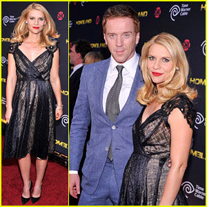 Claire Danes  Series on Claire Danes And Her Co Star Damian Lewis Attend The Second Season