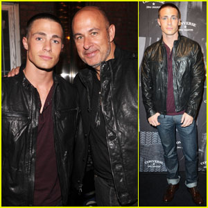 Colton Haynes: John Varvatos & Converse Launch at NYFW