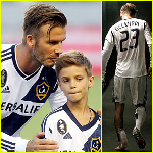David Beckham Injures Ankle on Romeo's 10th Birthday