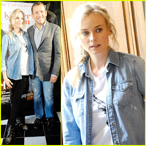 Diane Kruger: 'A Plan Almost Perfect' Press Conference!