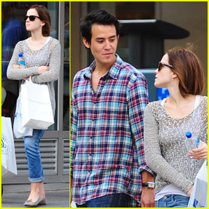 Emma Watson & Will Adamowicz: NYC Shopping Spree!