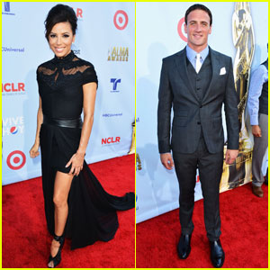Eva Longoria & Ryan Lochte: ALMA Awards Red Carpet!