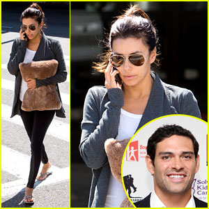 Eva Longoria Confirms She's Dating NFL Player Mark Sanchez