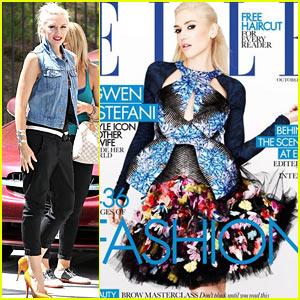 Gwen Stefani: 'Elle' UK Magazine Cover Girl!