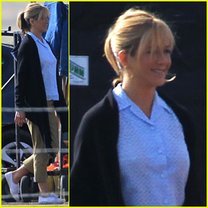 Jennifer Aniston: 'We're The Millers' Set!