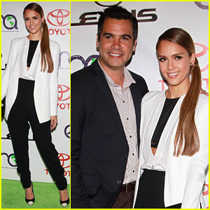 Jessica Alba & Cash Warren: Environmental Media Awards!